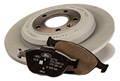 MOTORCRAFT® COMPLETE BRAKE SERVICE $179.95 OR LESS