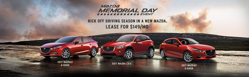 Lease a New Mazda for $149/mo Anderson Mazda